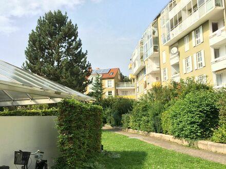 Terrasse und Einbauküche inklusive: tolle 2-Zimmer-Whg in München | Terrace and fitted kitchen included: great 2-room-Aptmt…
