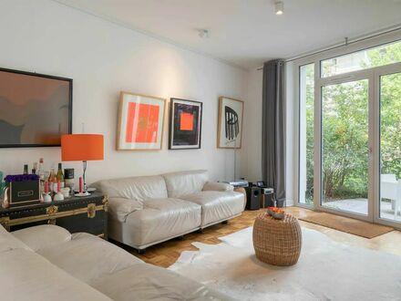 Hafencity Design Apartment mit Garten und Südbalkon | Hafencity Design Apartment with Garden and Balcony