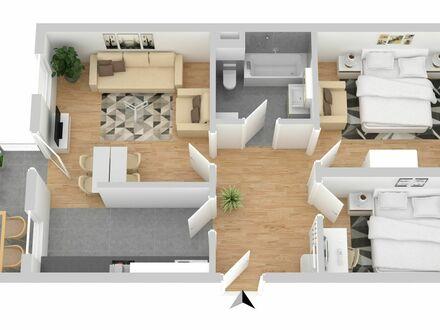 Zentrale 3 Zi. Wohnung auf Zeit Nähe Zentrum & Hafen inkl. Waschmaschine & W-LAN | Nice & great flat temp.