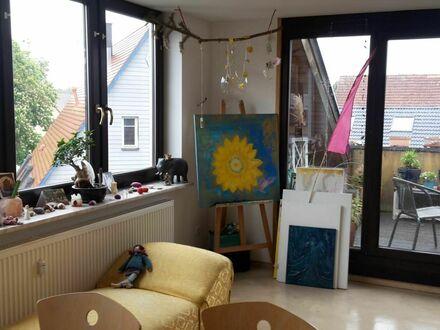 Gemütliche, Wohnung mit Dachbalkon in ruhiger Umgebung nahe Nürnberg (Rückersdorf) | Beautiful & neat home with nice city…
