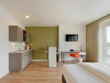 Liebevoll eingerichtetes Serviced Apartment mitten in Hürth mit großem Balkon & wöchentlicher Reinigung | Lovingly furnished…