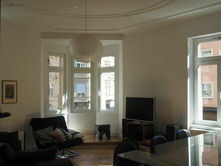 Stilvolle, modernisierte 5-Zimmer-Altbauwohnung mit Balkon im Stuttgarter Heusteigviertel | Stylish and gorgeous apartment…