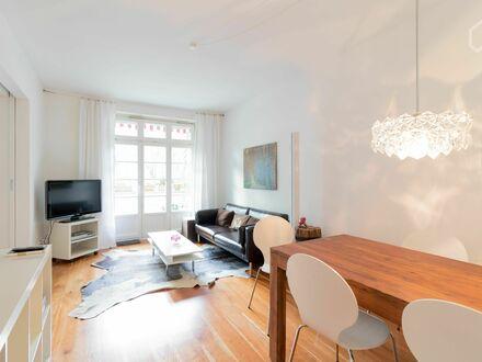 Sonnige Wohnung mitten in Eppendorf mit grossem Bolkon in Eppendorf   Gorgeous apartment in Hamburg Eppendorf