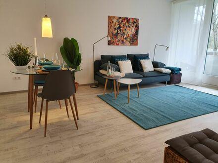 Attraktive, möblierte Nichtraucherwohnung mit großem Balkon in Bonn, Bad Godesberg-Muffendorf | Beautiful & fantastic 2 room…
