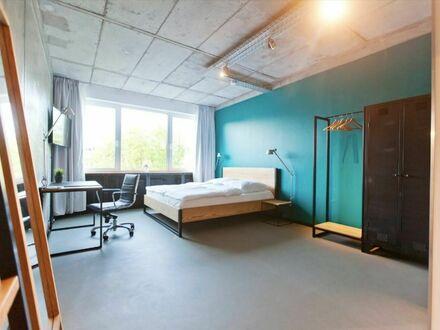 Modernes Loft Design Apartment in der Südvorstadt mit Gemeinschaftsbereich | Modern Loft Design Apartment in the south suburb…