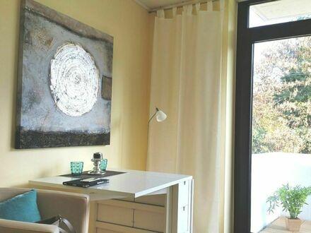 Beste Lage! Appartement mit Balkon, direkt am Rhein, alles inklusive! | Perfect, gorgeous suite close to the river Rhine