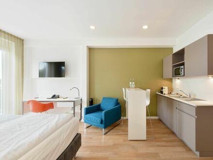 Tolles Serviced Apartment mit gemütlicher Einrichtung mitten in Hürth, Balkon & wöchentliche Reinigung | Great Serviced Apartment…