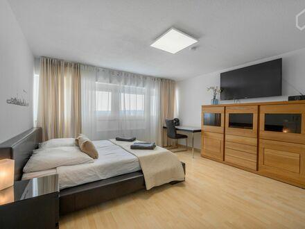 Stilvolle, neu renovierte, komplett möblierte, helle, ruhige 1-Zimmer Wohnung mit EBK zu vermieten | Stylish, newly renovated,…