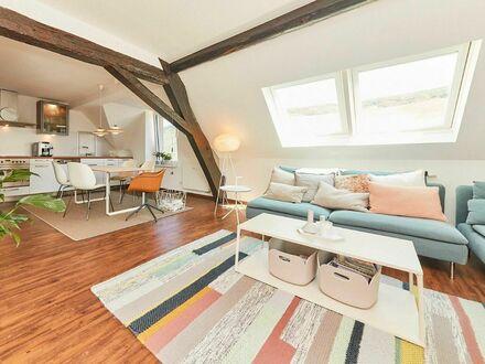 Designer Dachgeschosswohnung mit Blick auf Wehlener Sonnenuhr   Designer flat with view in wineyards