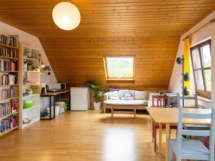 Schöne Dachwohnung mit eigenem Bad und Mini-Küche in Königswinter in Privathaus | Nice appartment with private bath and kitchenette…