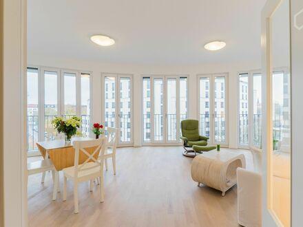 Feinste lichtdurchflutete Wohnung auf Zeit in Prenzlauer Berg mit Balkon+ Loggia   Wonderful, sunny apartment in Prenzlauer…