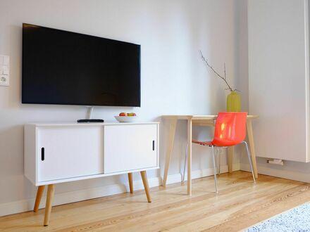 Hochwertig renoviertes und stilvoll möbliertes Altbau-Apartment im Frankfurter Westen | High-quality renovated and stylishly…