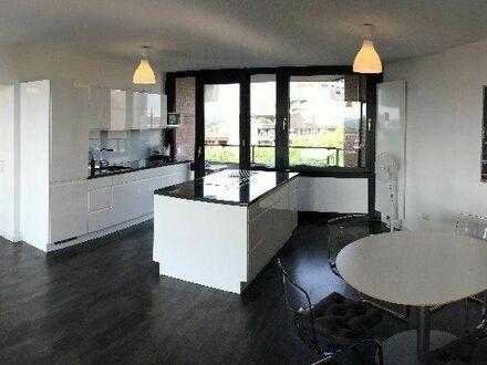 Moderne, geräumige Wohnung mit Rheinblick | Modern, spacious apartment with Rhine view