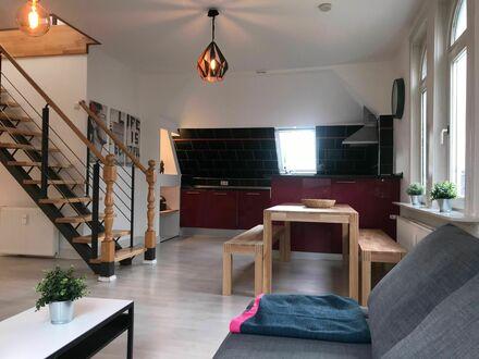 Maisonette-Loft 110m² in Jugendstilvilla - Citynah | Big Maisonette Loft 110 m² - Close to City Centre