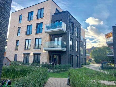 Moderne 3-Zimmer-Wohnung mit Garten/Terrasse und Tiefgaragenstellplatz | Modern 3-room apartment with garden/terrace and…