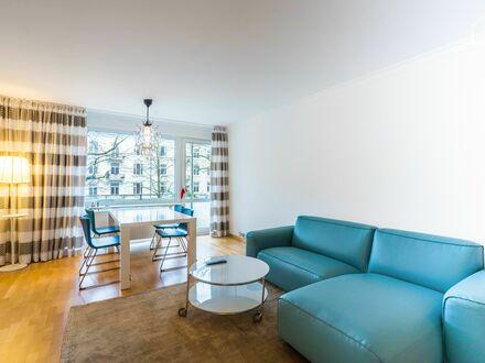 Wohnung in gehobener Klasse mit 2,5 Zimmern und 2 Balkonen in Eppendorf   Apartment in upper class with 2,5 rooms and 2 balconies…
