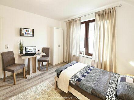 Einzelzimmer mit Gemeinschaftsbad | single room with shared bathroom