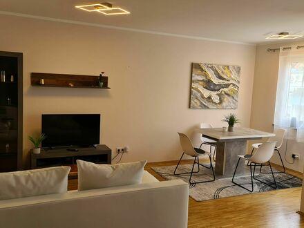 Moderne und helle 2- Zimmer Wohnung mit Balkon, zentral in München. 2 Min. Gehweg zur S-Bahnstation, 9 Min. Fußweg zur U-Bahn…