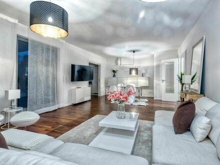 Wunderschöne Wohnung mit 4 Zimmern 3 Schlafzimmern und Garten | Charming apartment with 4 bedrooms and 2 bathrooms