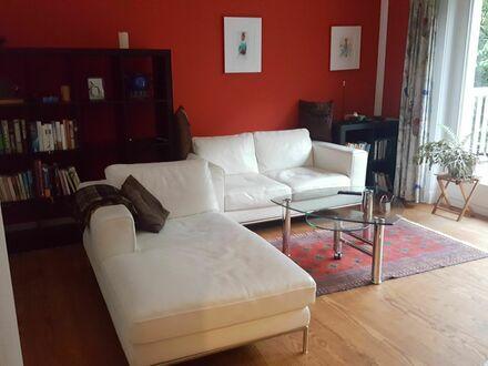 Appartement am Hirschpark in schönster Lage - groß und modern mit Terrasse | Apartment opposite Hirschpark in beautiful location…