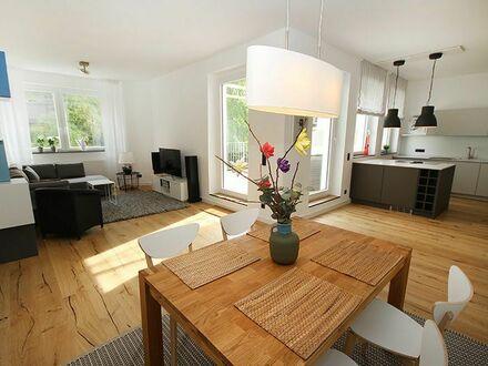 Stadtmitte - moderne 3 Zimmer Wohnung 117 qm große Dachterrasse | Modern, perfect home located in Düsseldorf - 3 rooms, 117…