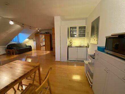 Häusliches & feinstes Studio Apartment in Top-Lage, Frankfurt am Main   Bright and quiet studio in vibrant neighbourhood,…