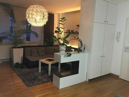 Businesswohnen meets Entspannung: 3-Zimmer Wohnung mit Terrasse/Garten und Balkon | Business living meets relaxation: 3-room…