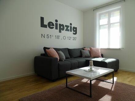 Liebevoll eingerichtetes, voll ausgestattetes neues Apartment in Leipzig mit top Verkehrsanbindung, USt ausweisbar!! | Lovingly…
