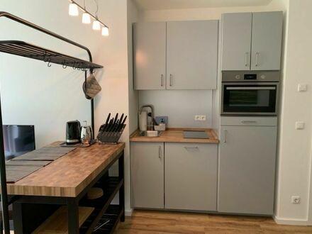 Liebevoll eingerichtetes Apartment mit Terrasse und Blick ins Grüne | Lovingly furnished apartment with terrace and view…