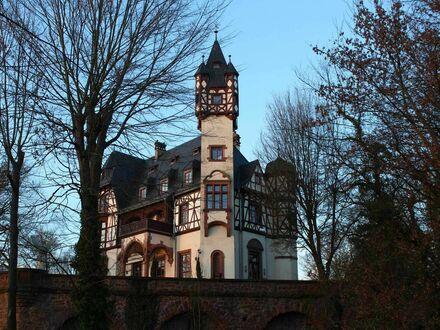 Wohnen auf Zeit in historischem Schloss nahe Frankfurt | Charming and great apartment in Büdesheim castle near Frankfurt
