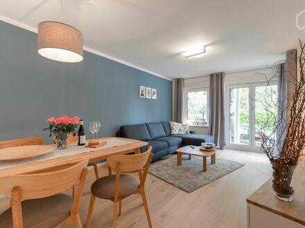 Moderne 2-Zimmer-Wohnung auf Zeit in Hamburg Barmbek-Süd mit Außenbereich und Stellplatz | Modern 2 room apartment in Hamburg…