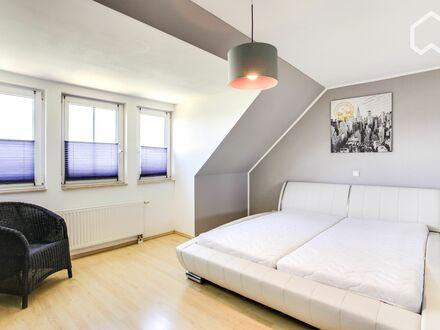 Moderne, hochwertige 3 Zimmer Maisonette Wohnung in Köln-Widdersdorf | Modern, spacious flat with a balcony in a family-friendly…