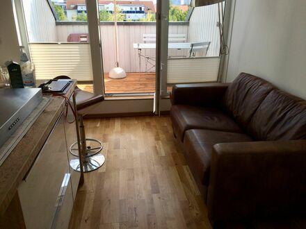 Voll-Möblierte Dach-Wohnung in Gohlis mit Süd-Terrasse | Beautiful and fantastic suite in Leipzig