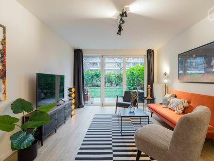 Interior Design Apartment mit Garten an der Rummelsburger Bucht | Interior design apartment with garden on the Rummelsburger…