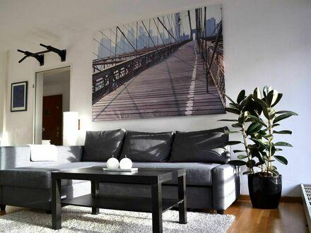 Traumhafte Wohnung am Rhein / Messe nah | Pretty and gorgeous flat near the river rhine / convention centre