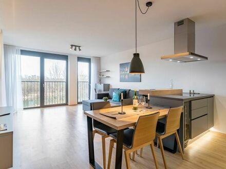 Modisches, feinstes Studio in lebendiger Nachbarschaft | New and pretty apartment close to City Center