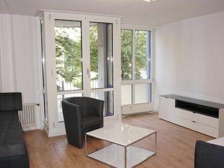 Helle möblierte 1-Zimmer-Wohnung in ruhiger Lage unweit vom Bahnhof | Bright furnished 1-room apartment in a quiet location…