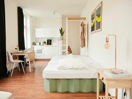 Hack yourself: Biohacking Apartment in ruhigem Hinterhaus in Nippes | Hack yourself: Biohacking Apartment in quite neighbourhood