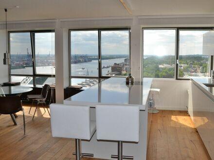 modernes apartment mit endlos schönem elbblick | modern apartment with amazing river-view