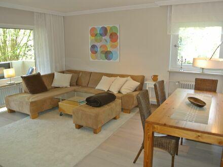 Wohnung mit großem Balkon individuellem Zugang zum Garten, direkt am Nymphenburger Park, verkehrsgünstig S-Bahn, Tram | Apartment…