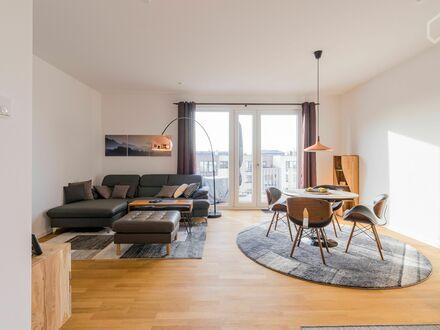 Neubau - Sonniges, ruhiges, exklusiv eingerichtetes Apartment mit Blick aufs Wasser | Exclusive 2-Bedroom Apartment in Beautiful…