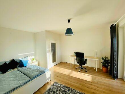 100-Quadratmeter-Wohnung in Ludwigshafen am Rhein mit Balkon | 100 square meter apartment in Ludwigshafen am Rhein with balcony