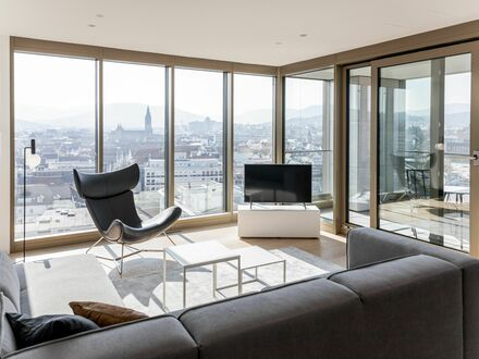 Zuhause mit Weitsicht - 3-Zi. Wohnung im Stuttgarter Tor! | Your home with a breathtaking view - One bedroom and study apartment
