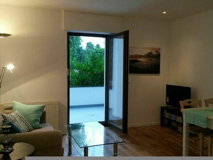 Neu Renovierte Wohnung mit neuem Bad und großer Sonnenterrasse   Newly renovated appartment with a new bathroom and a large…