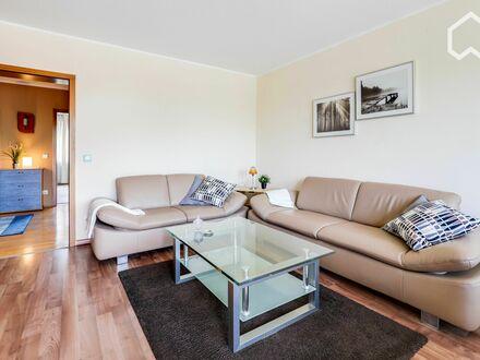 Unterbach: Vollmöblierte 3-Zimmerwohnung im Obergeschoss! Wohnen im Grüngürtel Düsseldorfs | Unterbach: Fully furnished three-room…