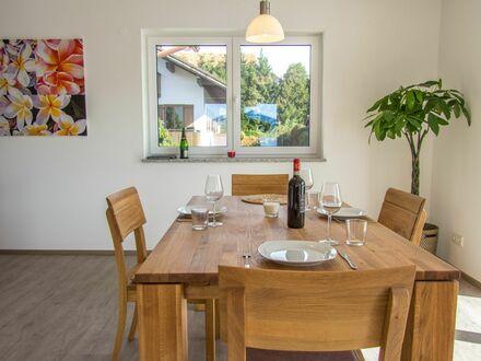 Apartment komplett Ausstattung in Hopfen am See, 150 m zum See und Bushaltestelle | Perfect and bright home in Füssen