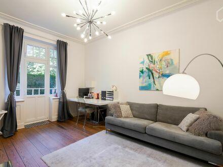 Hamburger Perle, Wunderschöne Altbau Wohnung top saniert   Lovely studio in vibrant neighbourhood