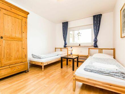 Ferienwohnung in ruhiger Lage in Köln Neubrück mit Aufzug, Balkon, PKW-Stellplatz und gratis W-LAN | Apartment in a quiet…