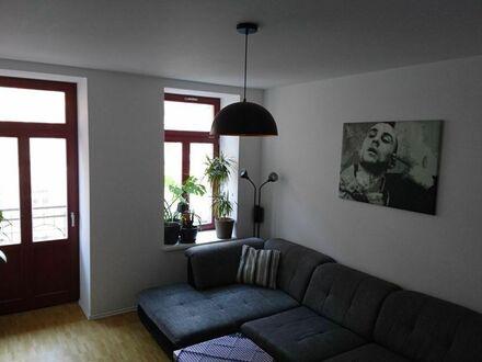 Schöne 2-Zimmer-Wohnung mit 2 Balkonen in Leipzig Volkmarsdorf | Nice 2 room apartment with 2 balconies in Leipzig Volkmarsdorf