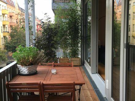 Moderne Neubauwohnung mitten im Kiez | Wonderful, stylish and modern apartment (Friedrichshain)